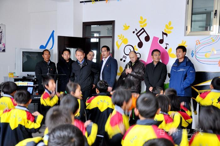 甘肃:省财政厅省教育厅调研安定区两类学校建设工作