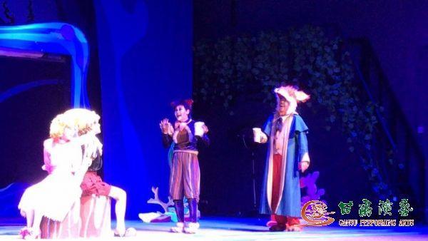 甘肃省话剧院60剧场上演两场经典儿童剧《小木偶奇遇记》