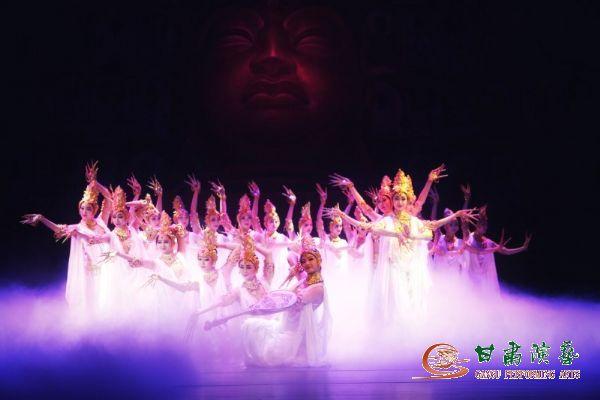 中国经典舞剧《丝路花雨》献礼海口