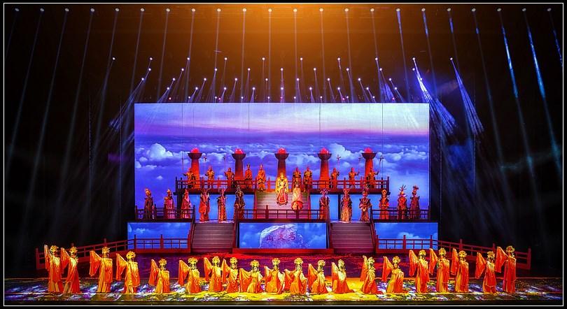 大型历史情景剧《回道张掖》6月13日起恢复演出