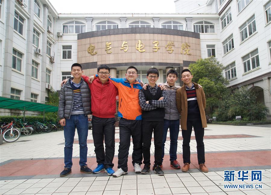 """(图片故事)(1)张海强:大学生""""发明家"""""""
