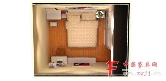 小小的卧室居然能布置得如此精致