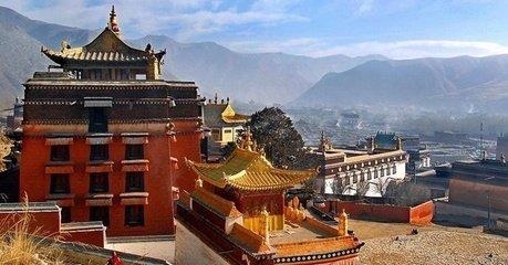 【风景名胜】甘南州夏河县拉卜楞寺美景寻踪